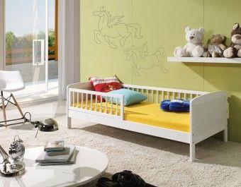 Dětská postel Junior bílá 160x70cm