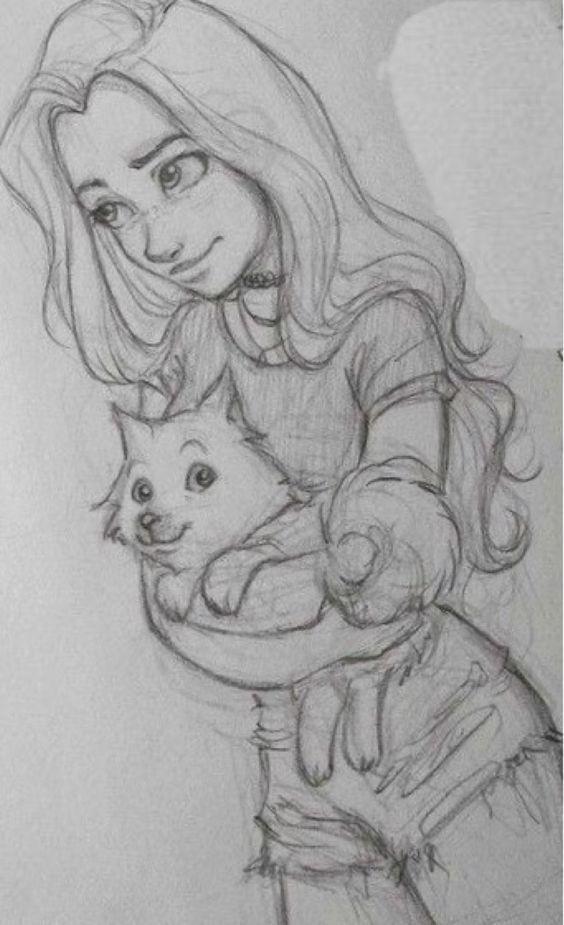 #Mädchen #Ziehen #Kunst #Katze – #drawing #Katze