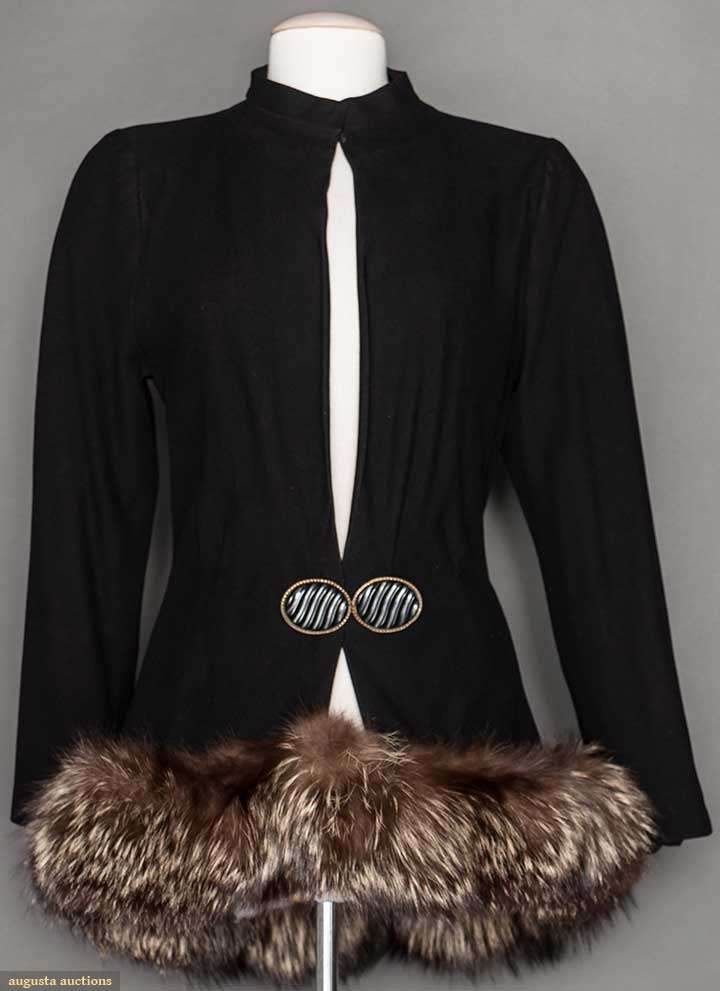 Madeleine Vionnet Jacket, Except the fur.