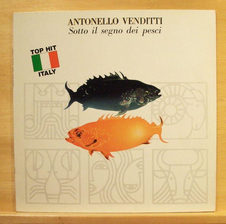 ANTONELLO VENDITTI - Sotto il Segno dei Pesci - mint minus Vinyl LP - Francesco