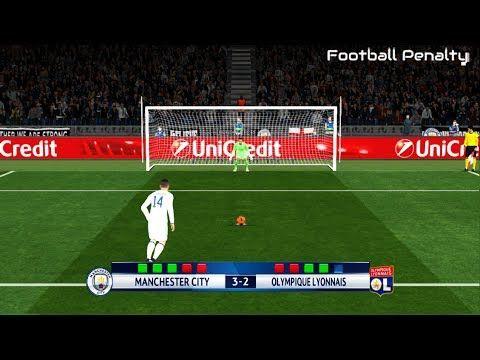 Manchester City vs Olympique Lyon   UEFA Champions League   Penalty Shoo...