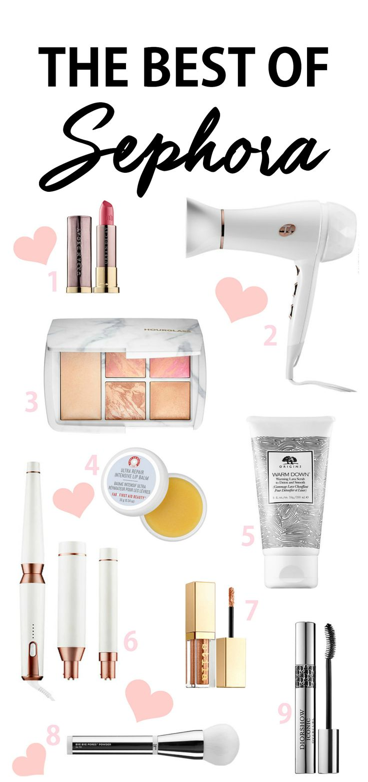 Ok I need everything! | Beauty blogger Mash Elle shares the best makeup, hair and beauty products from Sephora including It Cosmetics, Anastasia Beverly Hills, Makeup Forever, Living Proof, Tarte, T3, Urban Decay, Origins, First Aid Beauty, Dior, Stila and Caviar.