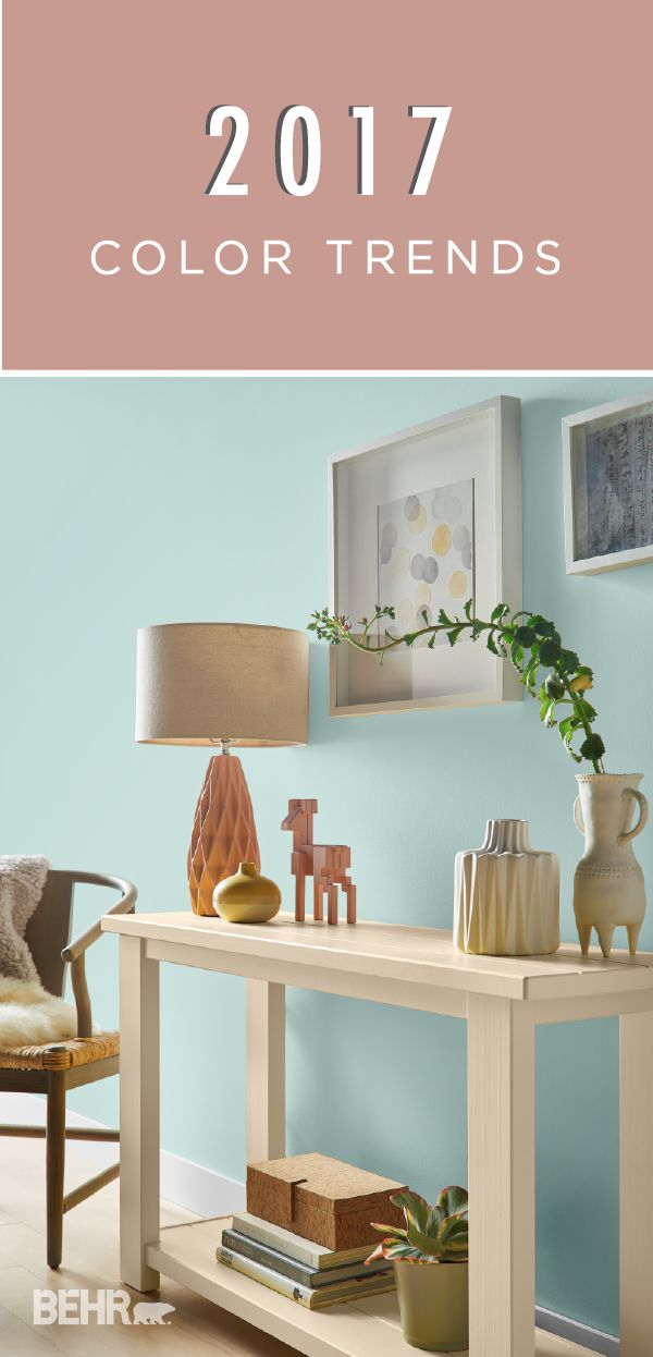 81 best behr 2017 color trends images on pinterest color Behr color of the year 2017