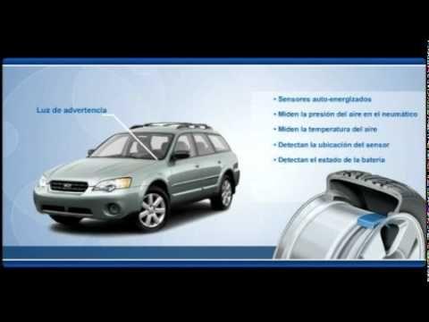 Sistemas de control de presión de neumáticos (TPMS - SPANISH)