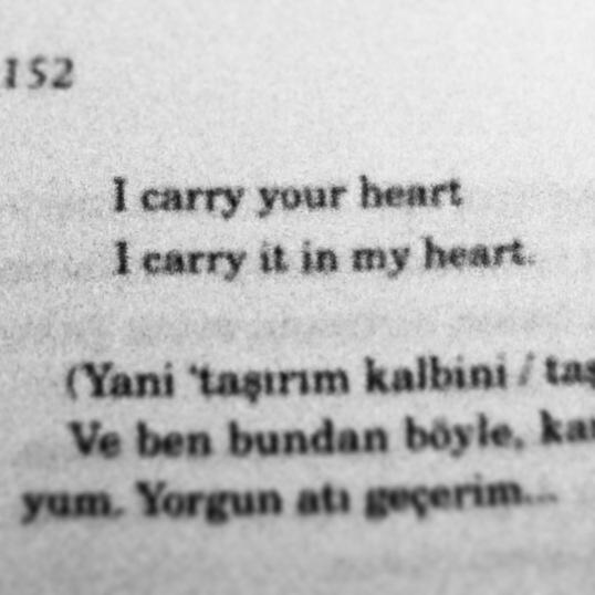 EE Cummings #love #poem #cummings