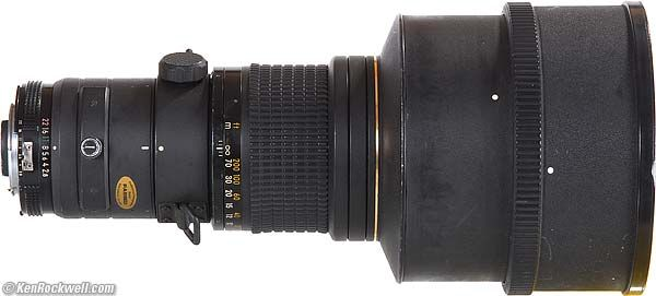 Nikon 300mm f/2.8 ED-IF-this is the one-carried this thing a thousand miles-it was great