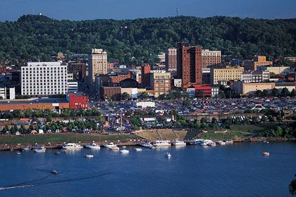 Huntington, West Virginia was the biggest city in our metropolitan area when I was growing up.