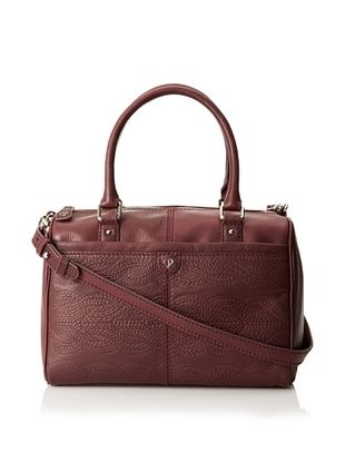 Charlotte Ronson Women's Cable Embossed Satchel
