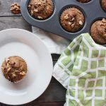 Banana Nut Chocolate Cinnamon Muffins from Jessica Mitton | Bob's Red Mill