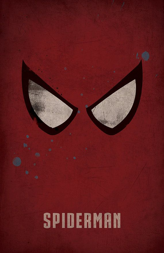 Spider-Man Minimlist Poster - West Graphics