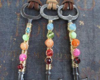 Collana perla d'acqua dolce di strass OOAK Vintage