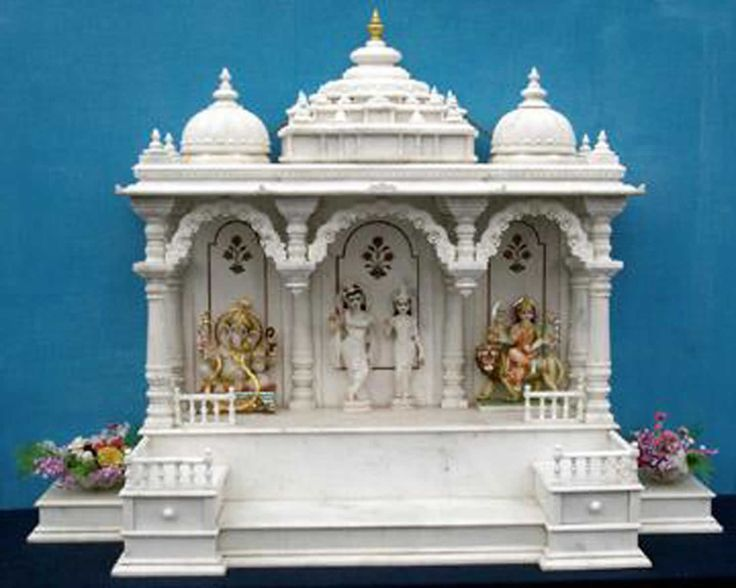 1000 images about pooja room mandir on pinterest hindus wooden doors and marble crafts for Marble temple designs for home