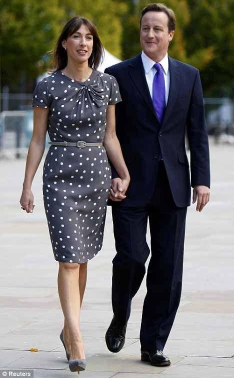 Samantha Cameron, wife of PM David Cameron of the UK