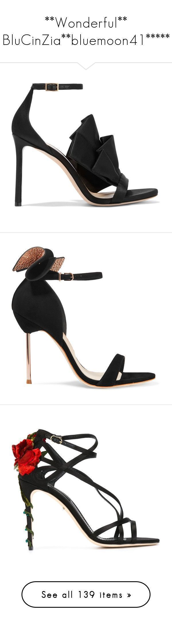 """**Wonderful** BluCinZia**bluemoon41*****"" by bluemoon ❤ liked on Polyvore featuring shoes, sandals, heels, jimmy choo, sapatos, black, strappy sandals, high heeled footwear, black strappy sandals and heels stilettos #jimmychooheelsblack"