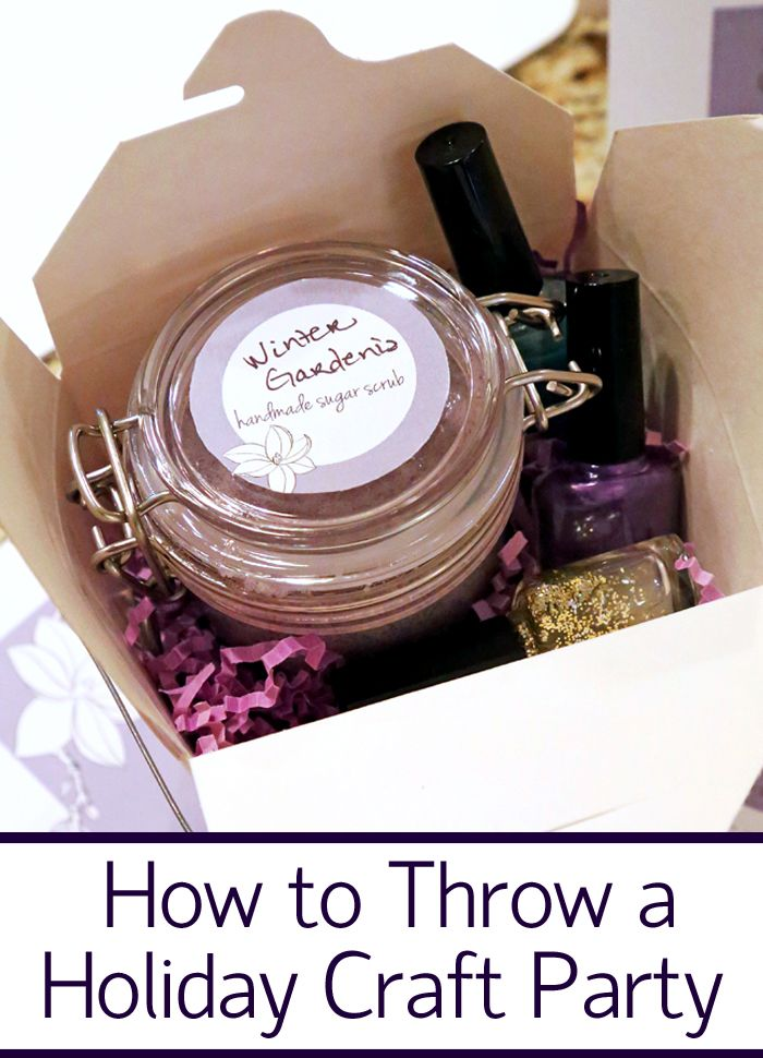 How to Throw a Holiday Craft Party