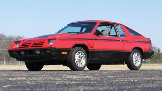 1981 Dodge Omni 024 Charger 2.2 Hatchback