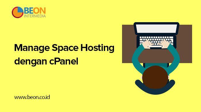 Manage Space Hosting dengan cPanel