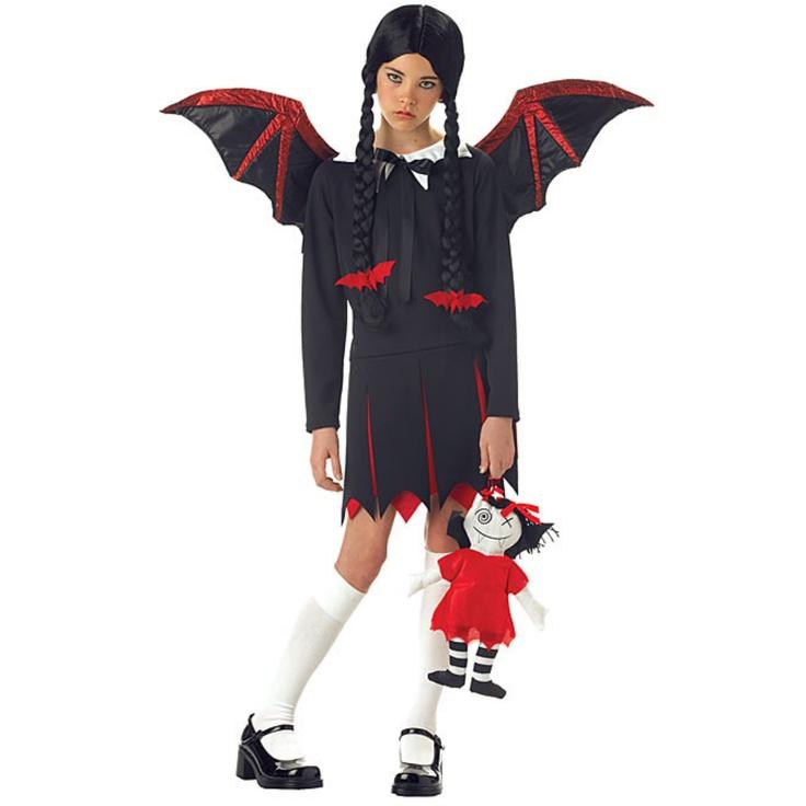dc comics rhinestone batgirl tank dress vampire halloween costumeshalloween costume ideasgirls - Halloween Costumes Vampire For Girls