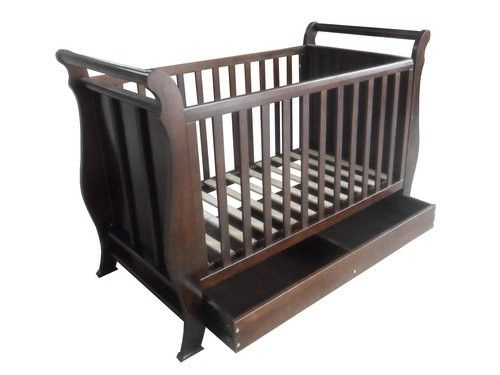 The Baby Spot - Deluxe 3 in 1 Sleigh Cot, $379.00 (http://thebabyspot.com.au/deluxe-3-in-1-sleigh-cot/)