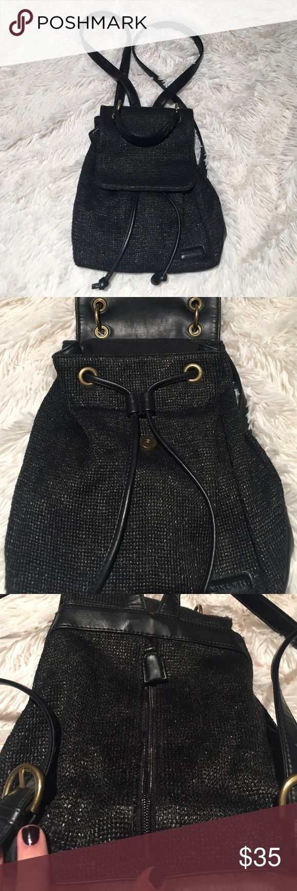 Nine West Back Pack Woven style material, goes perfect with any outfit, vinyl trim Nine West Bags Backpacks