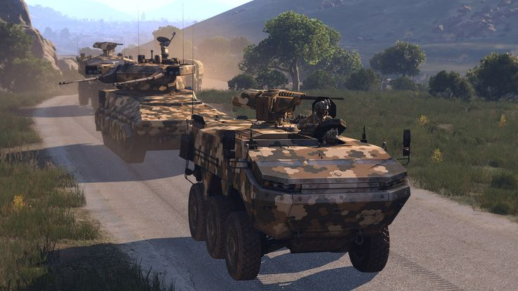 Armoured vehicles (Arma 3)