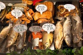 NetCost - Smoked Fish / Photo courtesy of NetCost Market Russian grocery store
