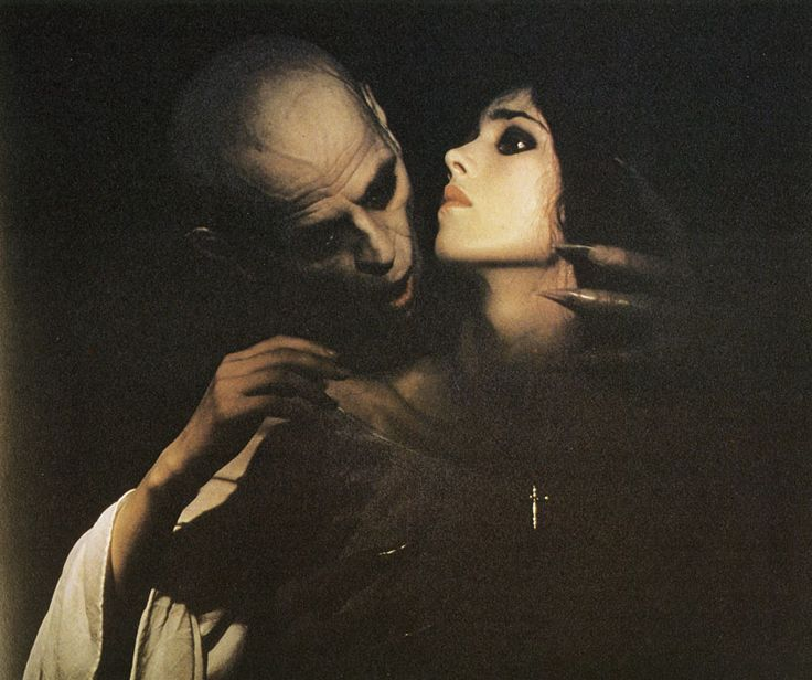 Photo of Nosferatu and Lucy for fans of Dracula.