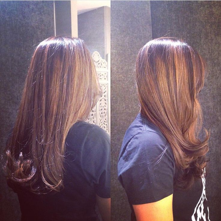 Beautiful cut, color and blow dry by Carmel at Midori.