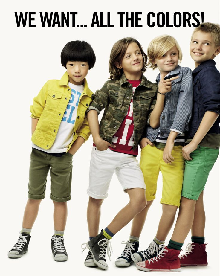 United colors of benetton spring 2014 kids collection for Benetton we are colors