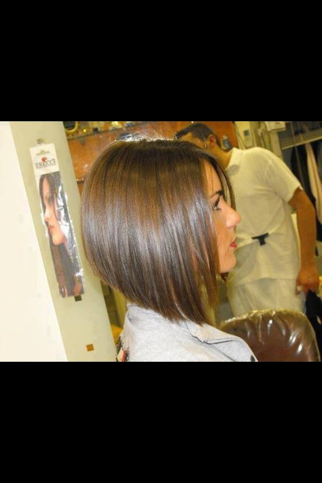 I like this haircut style!