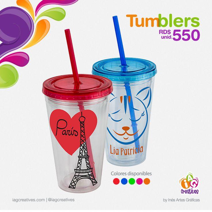 Ya tienes el tuyo? Ordénalo #Tumblers #Personalizados $550 Varios Colores #Personaliza tu #Mundo con #IAGCreatives