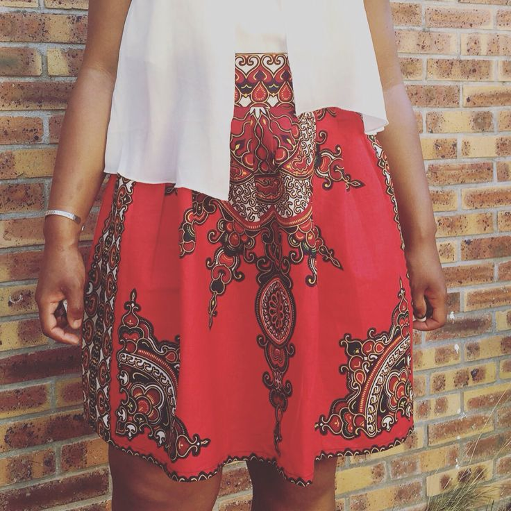#Red #Skirt by #NilitCreation #New #Collection à Montreal en septembre Disponible #espaceurbainmtl  #entreprenariatfeminin #africanfashion #afrique #ankara #wax #pagne #afritudementvotre #africa #designer #mode #madeinafrica #madebyus #madebylove #madebyblack