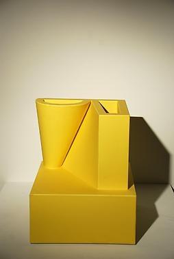 Ceramic Vase by Ettore Sottsass Samarra, 1989