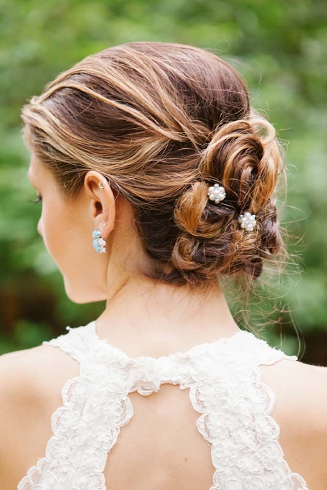 hair styles with buns 1000 ideas about unique wedding hairstyles on 6284