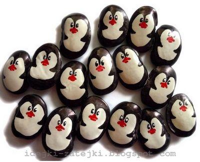 bean penguins!