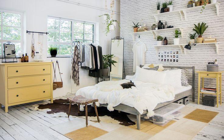 Hemnes Ladekast 3 Lades Geel Ikea Bedroom Dream