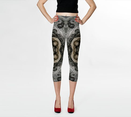 Akasha Bloom | Shop | Art of Where Save the #Turtles #mandala #capris #leggings  https://artofwhere.com/shop/artist/akasha-bloom #wearable #art #wearableart #unstarvingartist