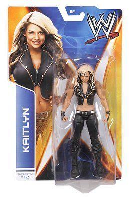 WWE Basic Superstar #12 KAITLYN Wrestling Action Figure Diva