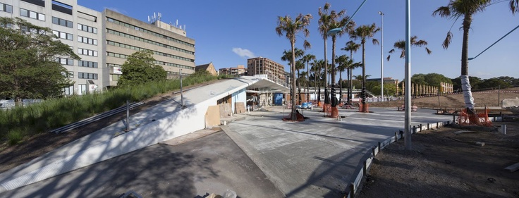 Prince Alfred park pool is almost ready!