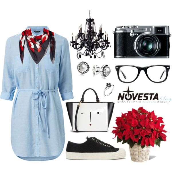 Happy Monday by NOVESTA feat Star Master Black on Polyvore