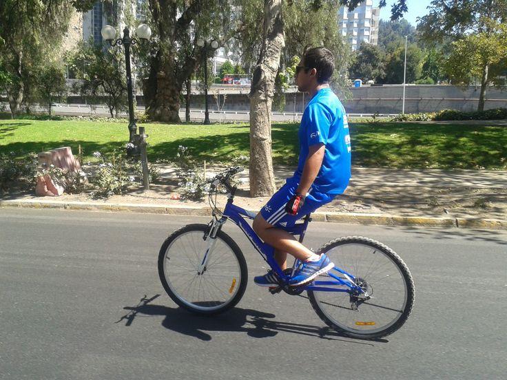 Paseo en bicicleta por Santiago