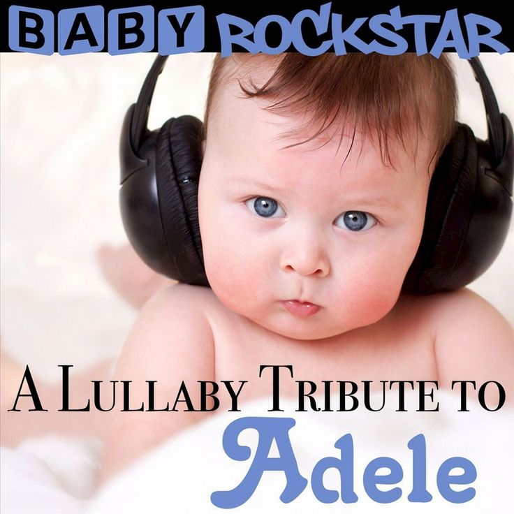Baby Rockstar - A Lullaby Tribute to Adele (CD)