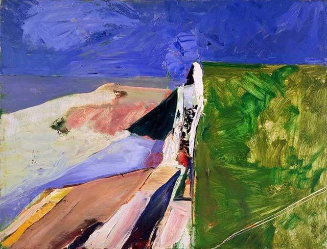 Seawall by Richard Diebenkorn