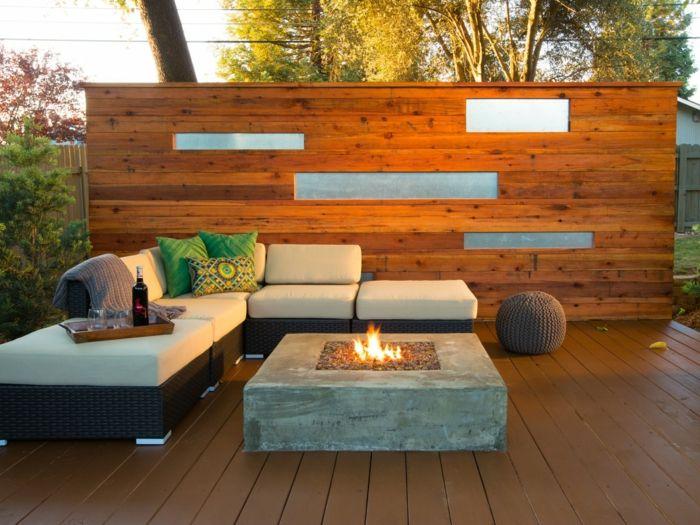 Les 191 meilleures images propos de terrasse sur for Plaid canape d angle