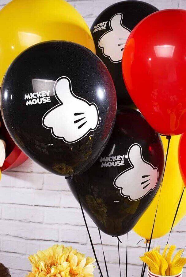 Decoracao Do Mickey 95 Fotos Dicas Para Decorar A Sua Festa