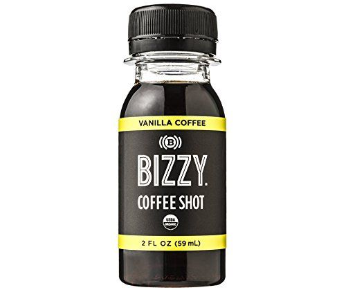 Bizzy Organic Cold Brew Double Shot - Vanilla 12 Pack