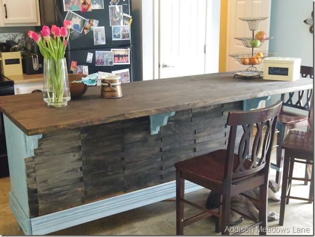 Metal Cart Turn Into Kitchen Island