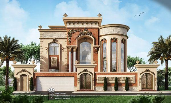 Luxury Villa On Behance House Design Pictures Luxury Exterior House Floor Design