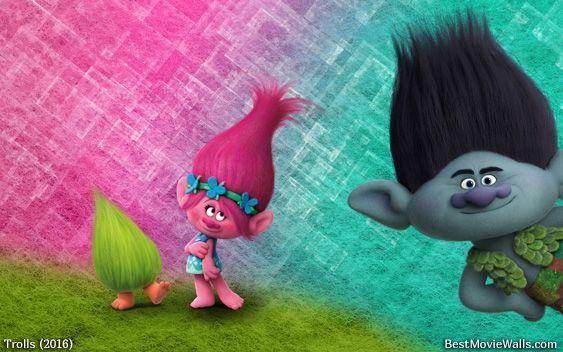 212 best images about trolls on pinterest an adventure - Bat and poppy wallpaper ...