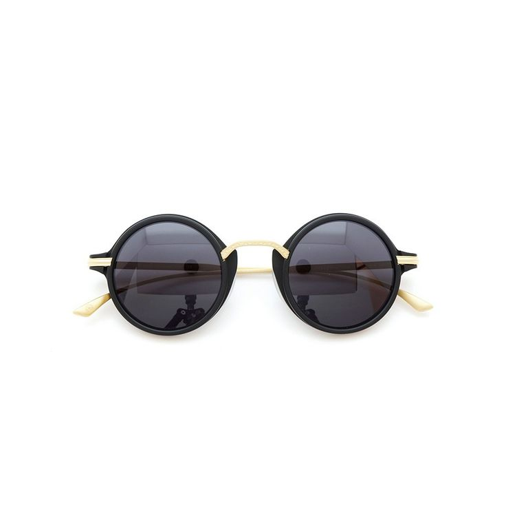 MASUNAGA designed by Kenzo Takada |Sunglasses| Mokko #19 BK-Matt 43size 100-Limited-edition | PonMegane #kenzotakada #sunglass #masunaga #ponmegane